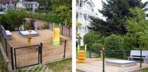 Spielplatz der Parkresidenz Concordia