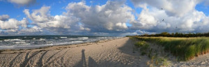 """Strand vom Seebad Juliusruh """"Die Schaabe"""""""